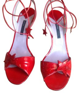 Marc Jacobs Red Sandals