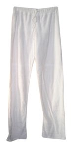 llEl Terrycloth Athletic Pants White
