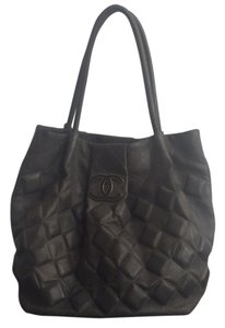 Chanel Tote in Charcoal Grey