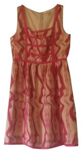 Esley short dress Pink on Tradesy