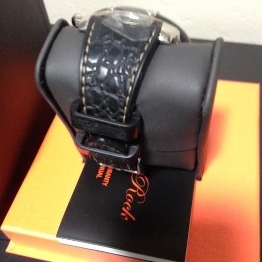 Glam Rock GLAM ROCK - Miami Large Chronograph with Silicon Crocodile Band