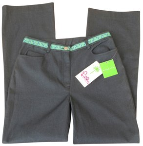 Lilly Pulitzer Nwt New New With Tags Straight Pants grey, green, blue