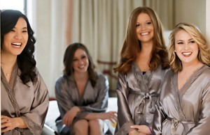 Silk Bridesmaids Robes