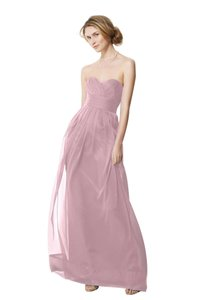 Watters Petal Pink Chiffon 9531 Formal Bridesmaid/Mob Dress Size 6 (S)