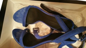 Alexander Wang cobalt blue Sandals