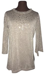 Holiday Sequins Faux Sweater