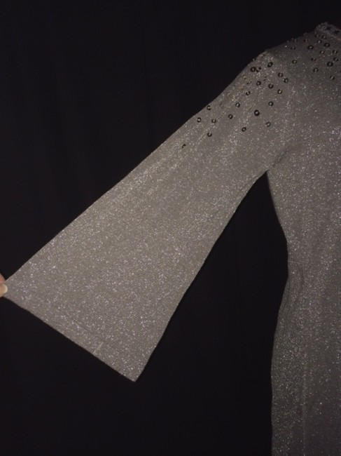Other Holiday Sequins Faux Rhinestones Sparkly Sweater