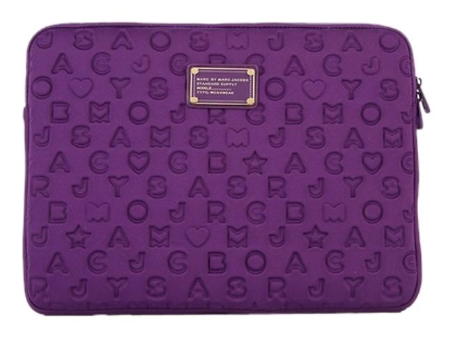 Item - Stardust Magic Violet Neoprene Laptop Bag