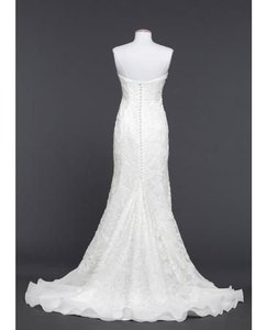 David's Bridal Galina Signature Lace Over Charmeuse Gown With Sou Wedding Dress