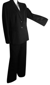 Tahari Pinstripe Charcoal Grey Suit