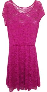 ASOS short dress Magenta on Tradesy