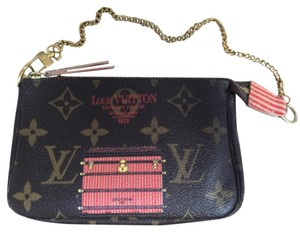 Louis Vuitton Limited Edition Mongram Rare Wristlet in Brown