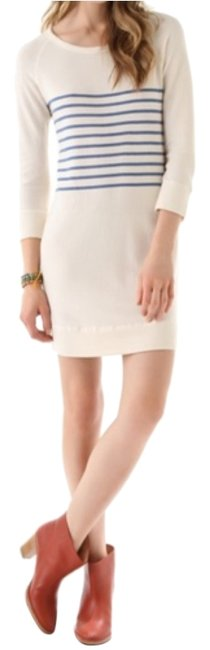 Preload https://item3.tradesy.com/images/sundry-cream-with-blue-stripes-above-knee-short-casual-dress-size-4-s-5168152-0-2.jpg?width=400&height=650