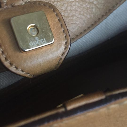 Gucci Satchel in Camel/Tan