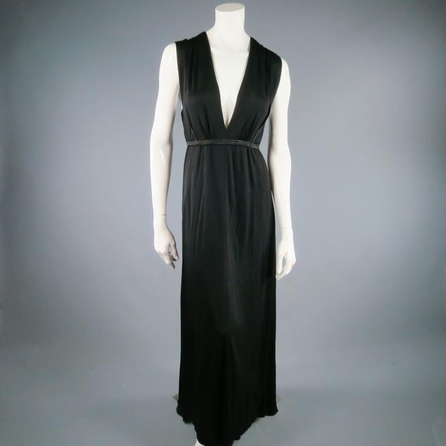 Black Maxi Dress by Marc Jacobs Maxi Gown Evening Party Lowcut