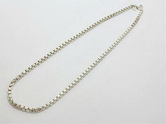 Tiffany & Co. Authentic Tiffany & Co. Sterling Silver Venetian Link Chain Necklace