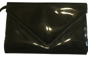 Marc Jacobs Patentleather Designer Rare Nightout Mj Envelope Evening Multi-use Black Clutch