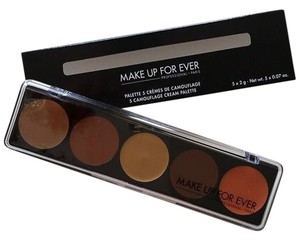 MAKE UP FOR EVER MAKE UP FOR EVER has the 5 camouflage cream palette in No 4 For Dark Skintones