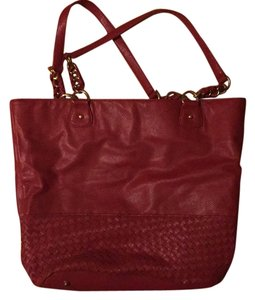deux lux Tote in Red