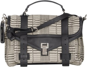 Proenza Schouler Proenza Ps1 Houndstoth Medium Plaid Shoulder Bag