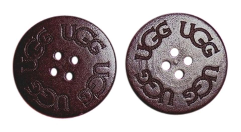 black ugg replacement buttons
