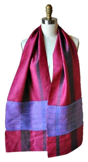 Preload https://item5.tradesy.com/images/pink-and-purple-handwoven-silk-scarfwrap-5171299-0-0.jpg?width=440&height=440