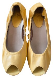 Cole Haan YELLOW Flats