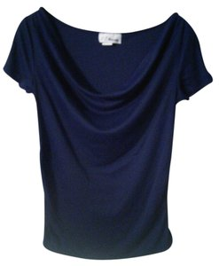 C T Maternity Navy Dress Top
