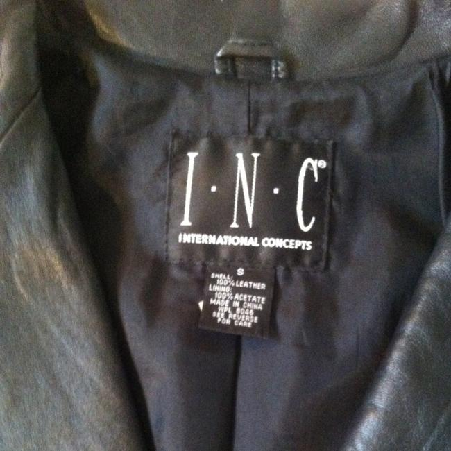 INC International Concepts Leather Jacket