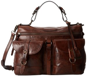 Frye Satchel in Dark Brown