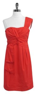 Nanette Lepore short dress Cotton One Shoulder on Tradesy