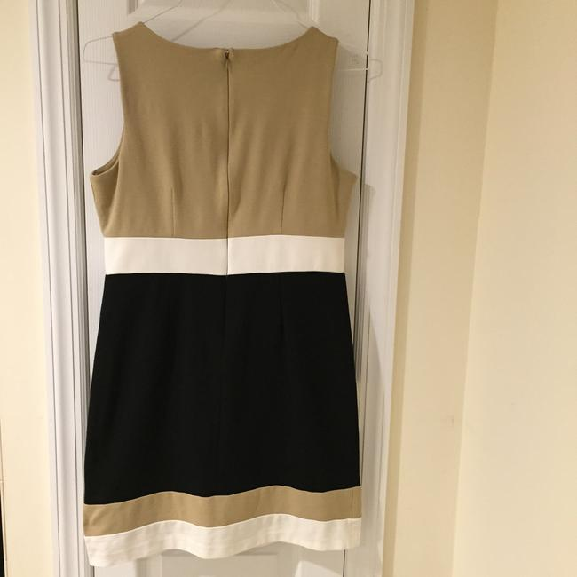 Vince Camuto short dress Black, Beige and Ivory. Petite 8 (M) Classic Chic Knee Lenght on Tradesy