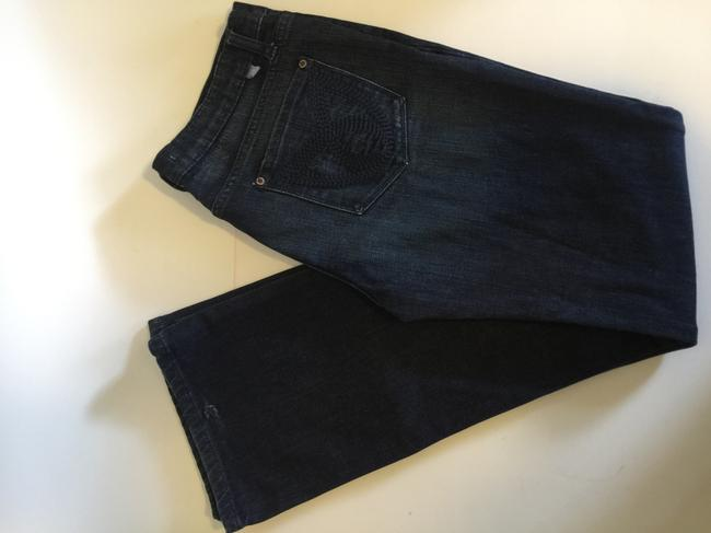 Freedom of choice Boot Cut Jeans-Dark Rinse