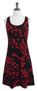 Tory Burch short dress Print Silk Sleeveless on Tradesy