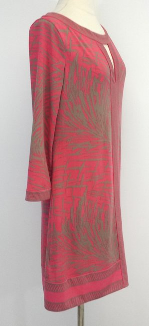 BCBGMAXAZRIA short dress Abstract Print Shift on Tradesy