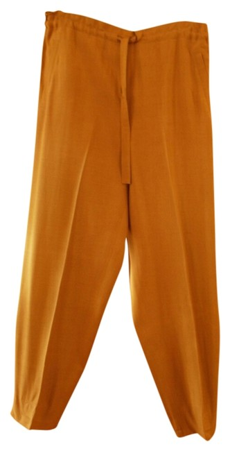 Preload https://img-static.tradesy.com/item/517310/mustard-relaxed-fit-pants-size-8-m-29-30-0-0-650-650.jpg