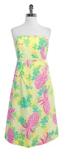 Lilly Pulitzer short dress Pineapple Print Cotton on Tradesy