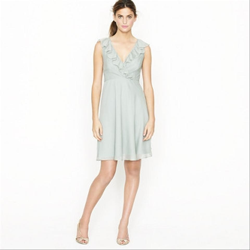J Crew Dusty Shale Macie 65118 Dress Tradesy Weddings