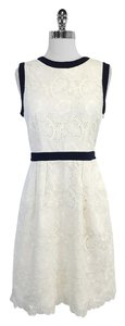 MILLY short dress Eyelet Cotton Sleeveless on Tradesy