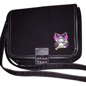 Hello Kitty Black Messenger Bag