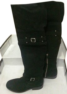 Vince Camuto Knee High Tall Black Boots