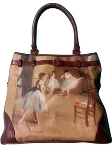 Galleria Enterprises Ballet Degas Tote in Brown multi