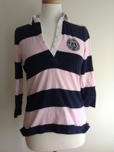 Abercrombie & Fitch Preppy Rugby Stripes Sweater