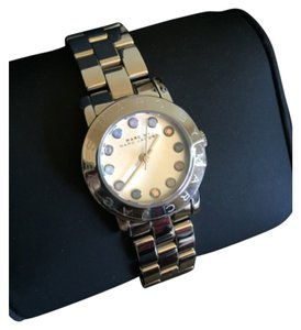 Marc by Marc Jacobs Marc By Marc Jacobs Amy Dexter White Dial Stainless Steel Ladies Watch MBM3217