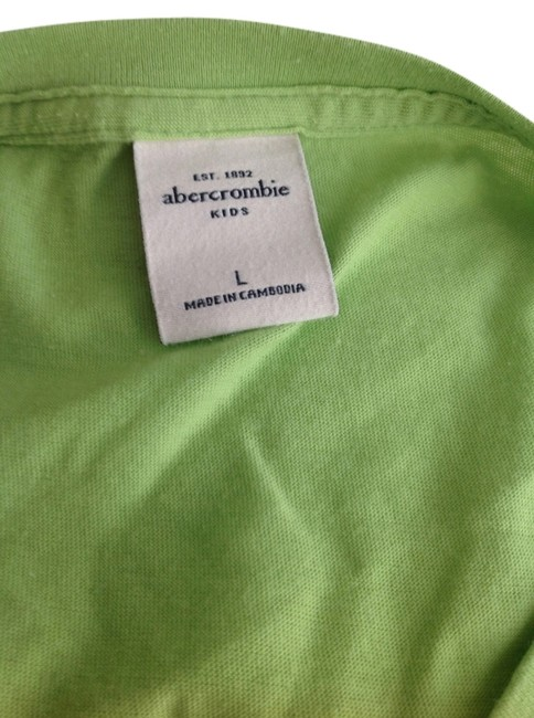 Abercrombie & Fitch T Shirt Pink and green
