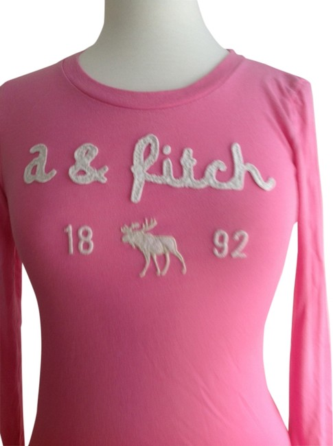 Abercrombie & Fitch T Shirt Pink