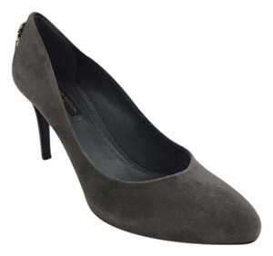 Louis Vuitton Leather Pump Grey Pumps