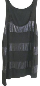 Ella Moss Top Black with Sequins