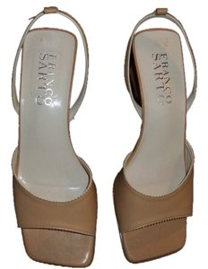 Franco Sarto Tan Wedges