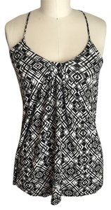 Cynthia Rowley To Work Top Black and White
